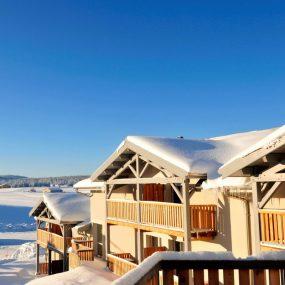 Station de ski de Chapelle des Bois en Hiver