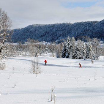 ski de fond chapelle des bois