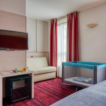 Hôtel le Richemont Paris chambre
