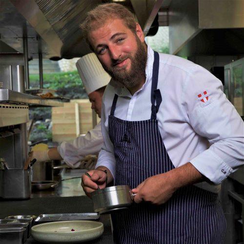 Chef cuisinier Clément Bouvier