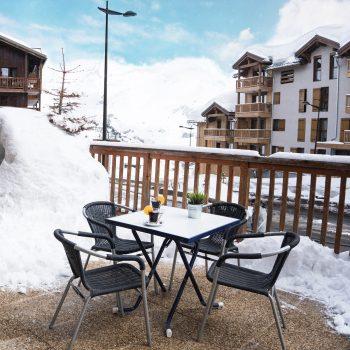 Restaurant Station de ski Miléade à Tignes